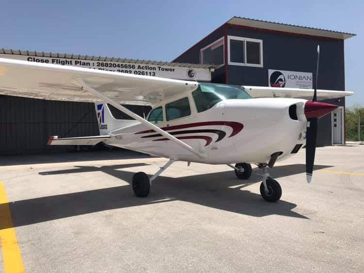 c-172 new plane ionian aviation